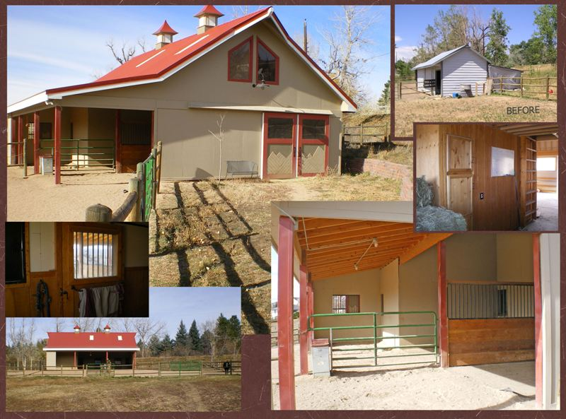 Barn and arena designs by lynn long planning and design llc for Small horse farm plans