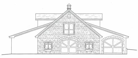 Barn Line Drawing Design Private Barn Design